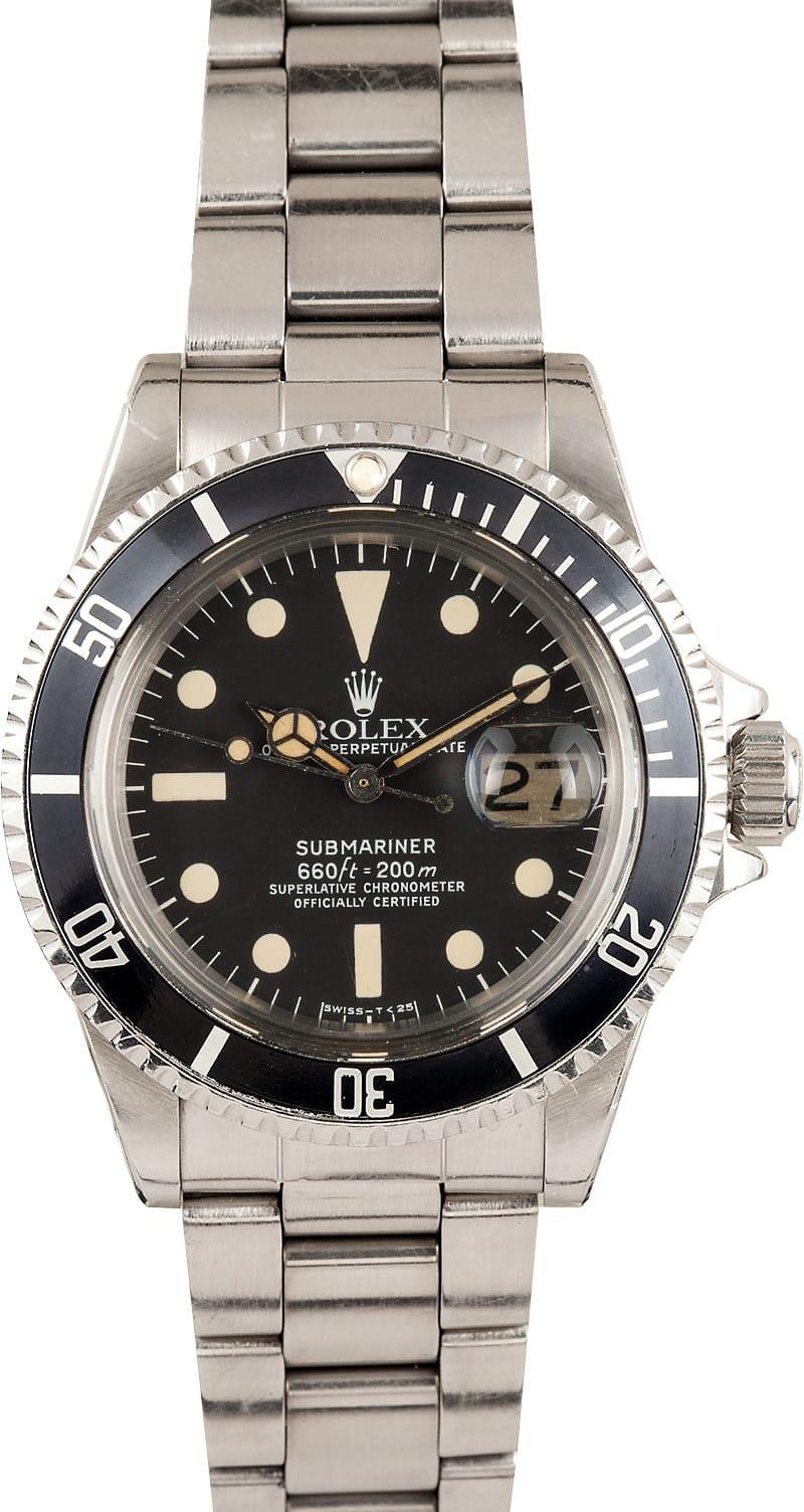 Vintage Rolex Submariner 1680 Bob S Watches