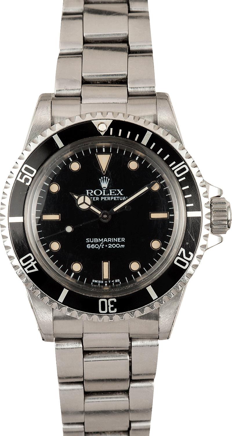 Vintage Rolex Submariner 5512 100% Authentic  Vintage Rolex Submariner