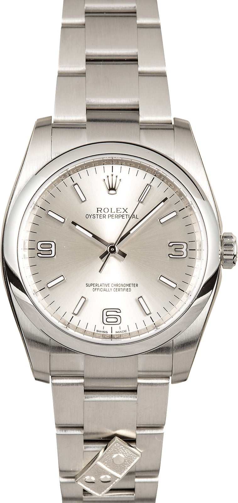 New Rolex Oyster Perpetual w/ Dominos Logo