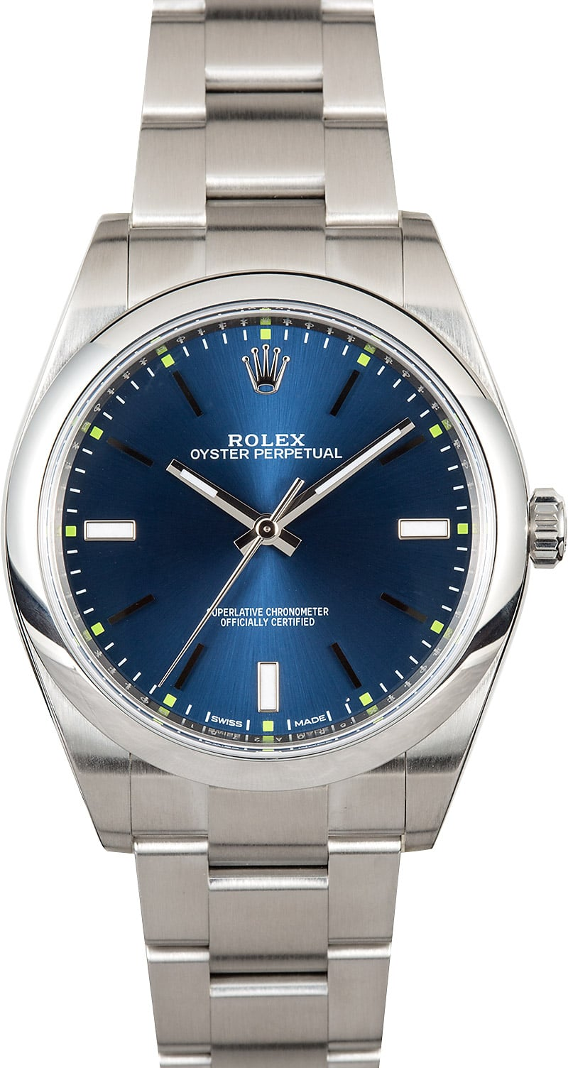 Oyster perpetual rolex 114300 for Oyster watches