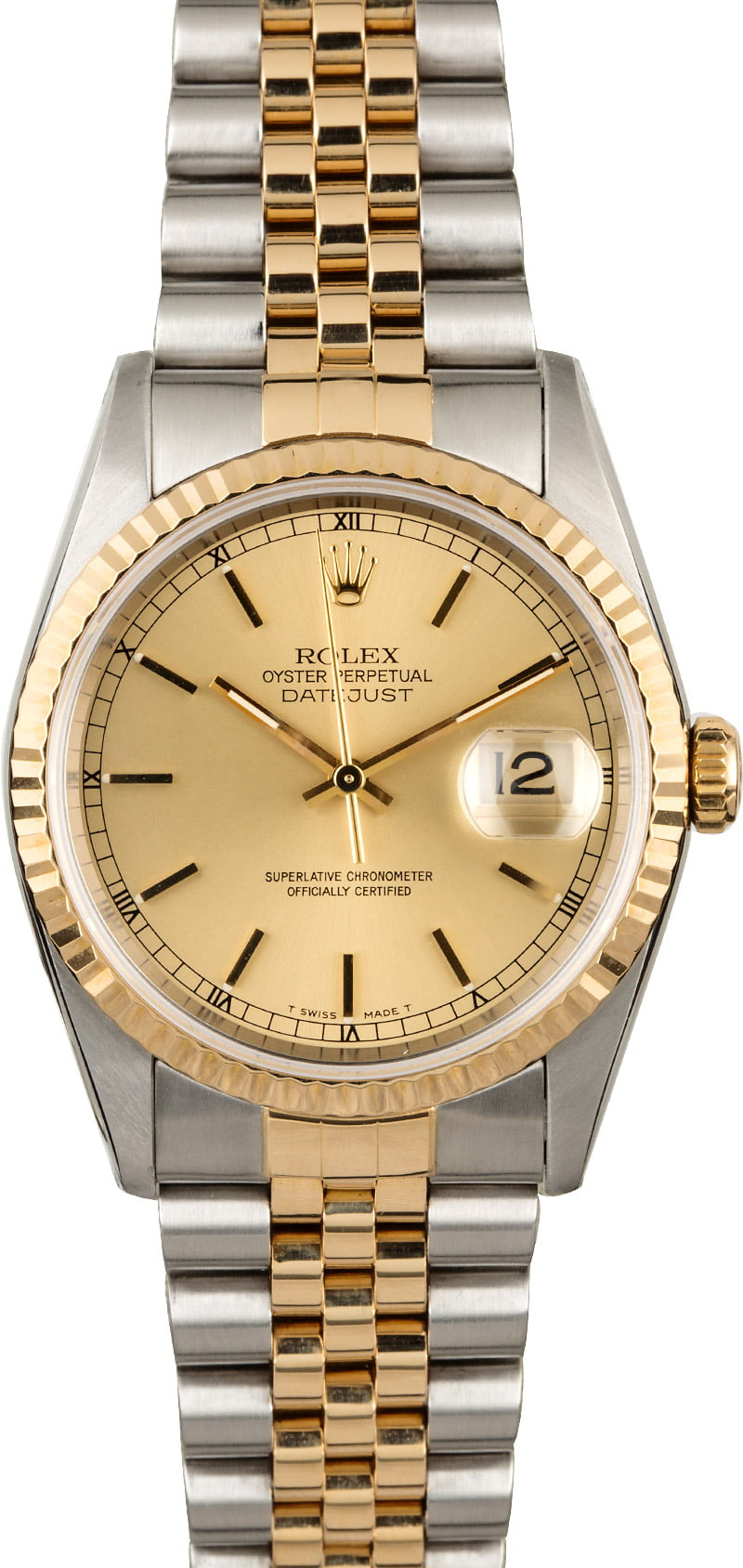 PreOwned Rolex Datejust 16233 Two Tone