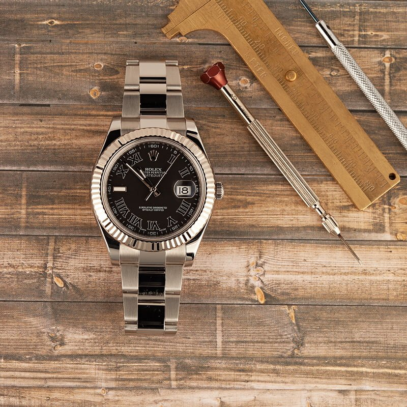 Black Rolex Datejust Watches