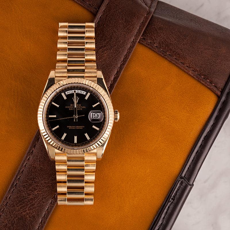 40mm Rolex President Watches