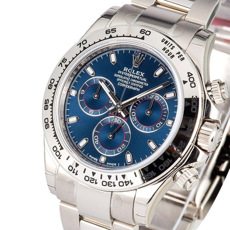 White Gold Rolex Daytona 116509