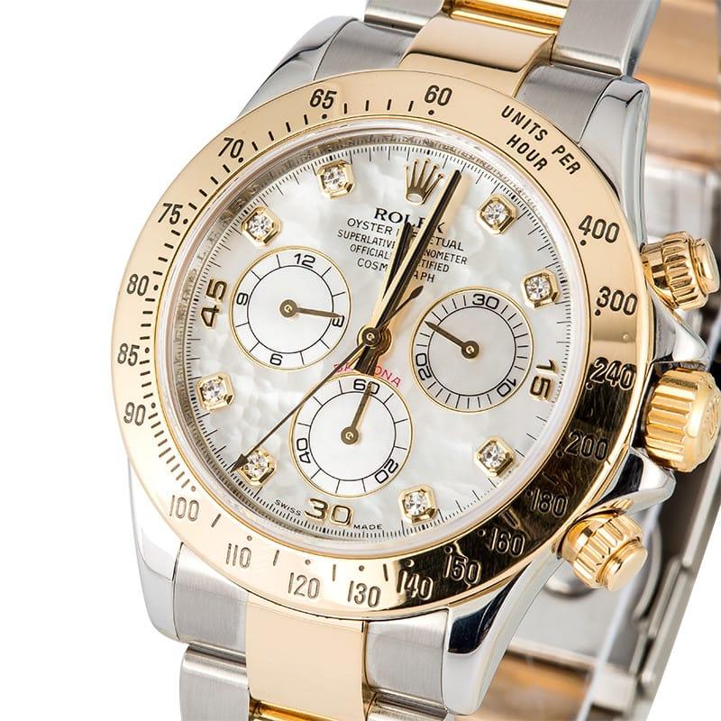 Rolex Daytona 116523 Diamond Mother Of Pearl
