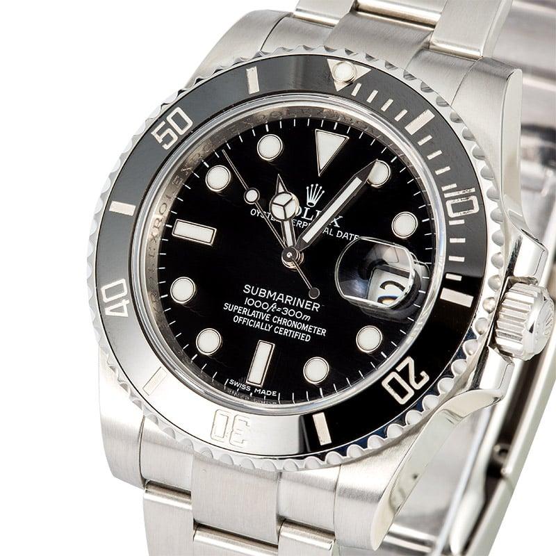 b8b3d7e087226 Buy Used Rolex Submariner 116610LN | Bob's Watches - Sku: 113992