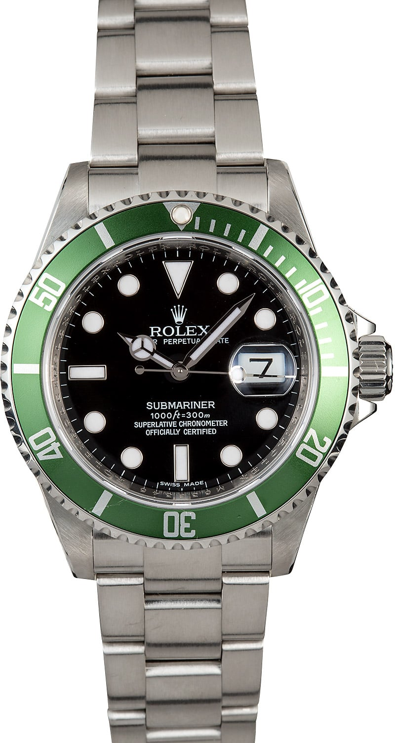 rolex 50th anniversary submariner 16610lv. Black Bedroom Furniture Sets. Home Design Ideas
