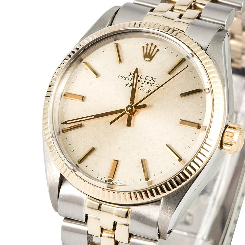 Rolex vintage air king 5501 for Rolex air king