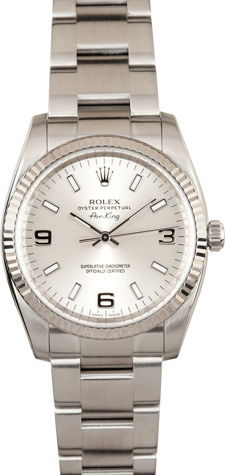 Rolex Air King Reference 114234 Stainless Steel At Bob S
