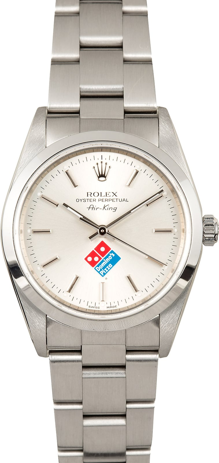 Rolex air king 14000 dominos pizza dial for Rolex air king