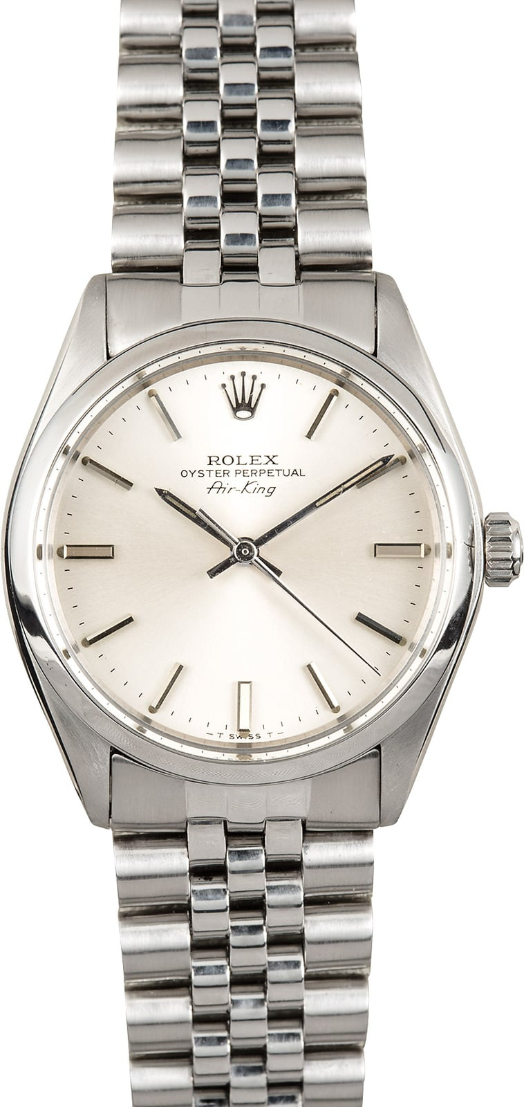 Rolex air king 5500 jubilee bracelet for Rolex air king