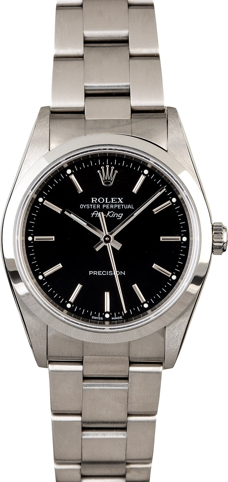 Air,King Rolex 14000 Black Dial