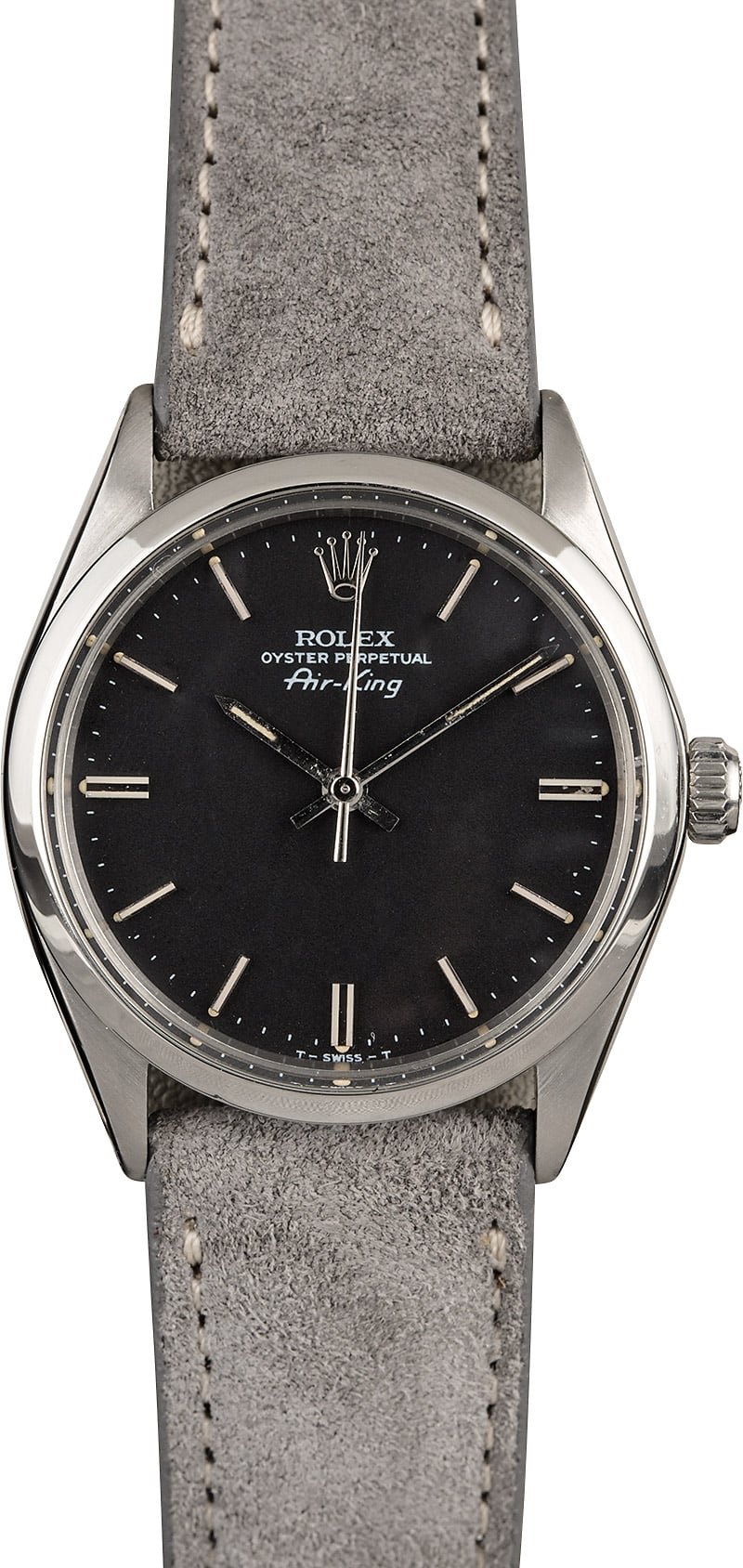 Rolex air king 5500 black index dial for Rolex air king
