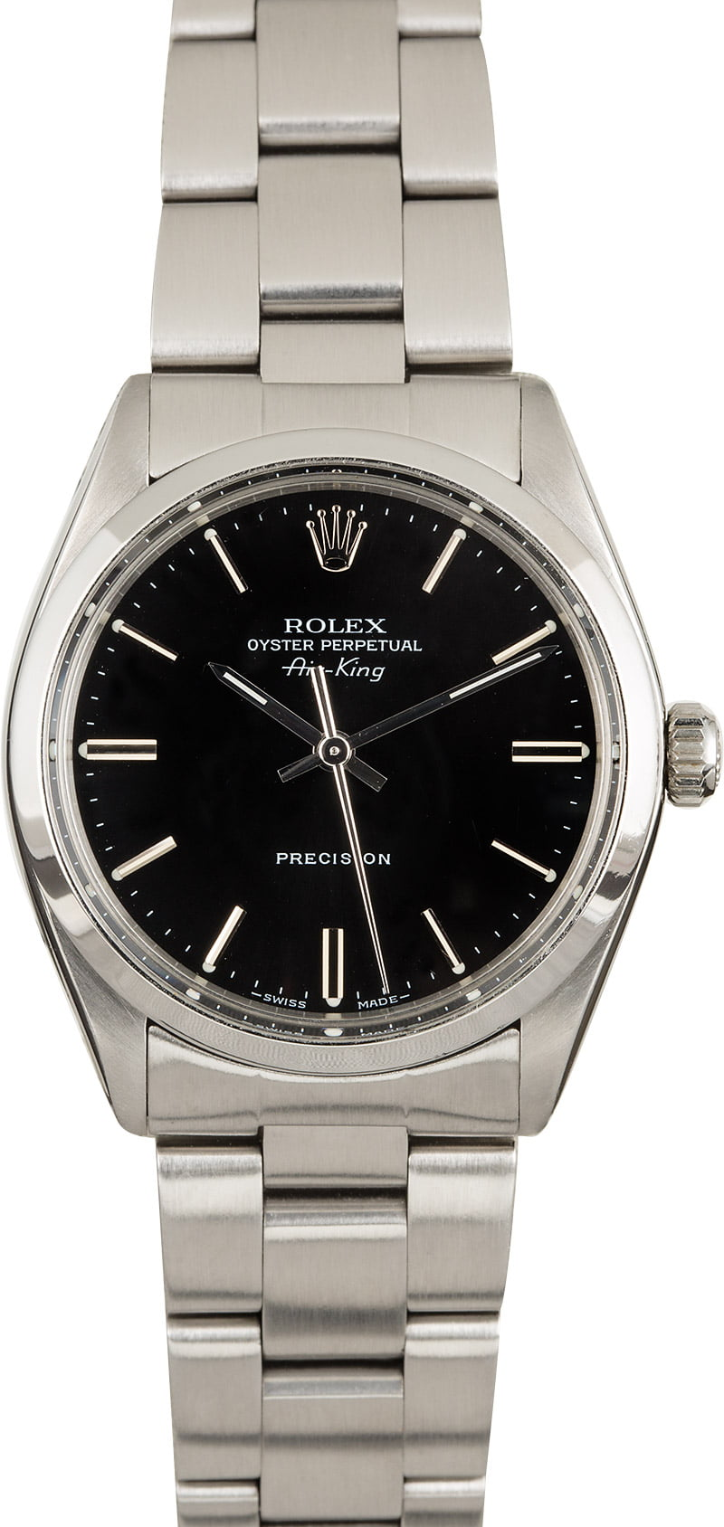 PreOwned Rolex Air,King 5500 Black Dial