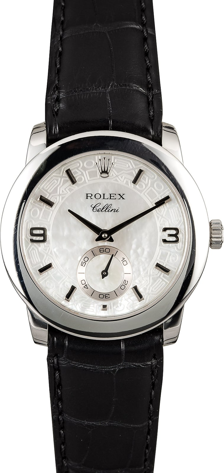 Rolex cellini 5240 cellinium platinum for Rolex cellini