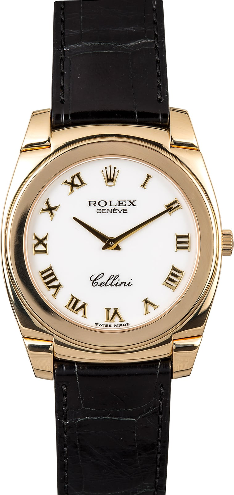 Rolex cellini cestello 5330 roman for Rolex cellini