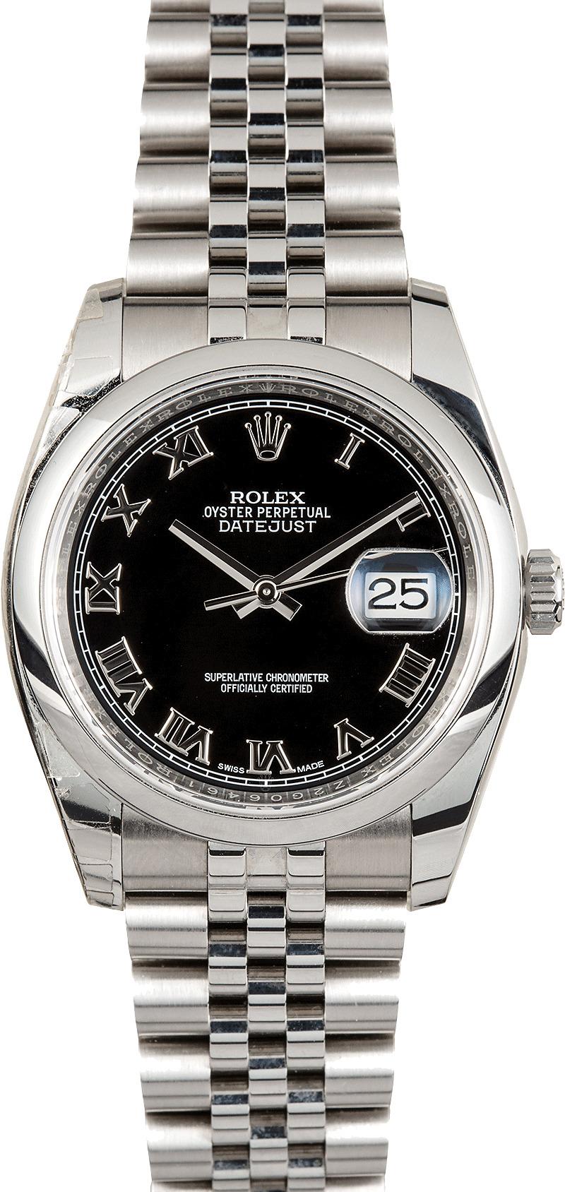 Rolex Datejust Black