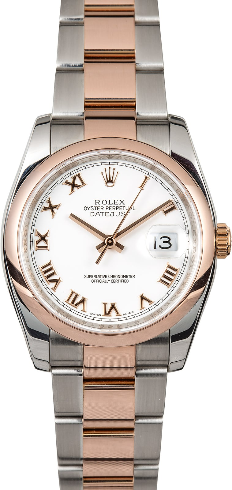Rolex Datejust 116201 Twotone Rose Gold. Lucky Pendant. Watch Pendant. Class Watches. Mini Gold Chains. Orange Necklace. Navy Rings. Double Band Rings. Lily Engagement Rings