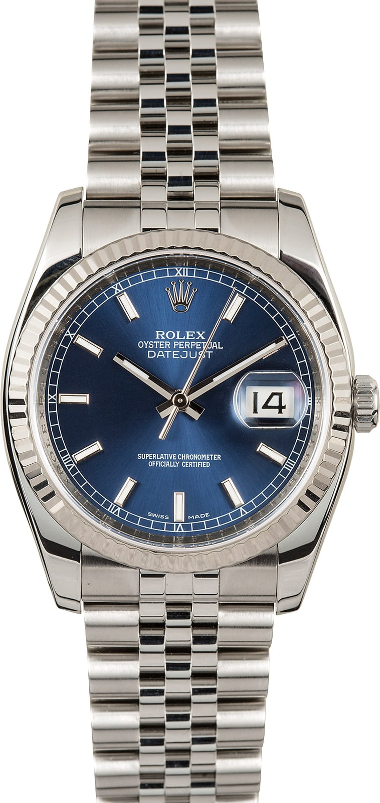 Rolex datejust 116234 blue 36mm for Rolex date just 36
