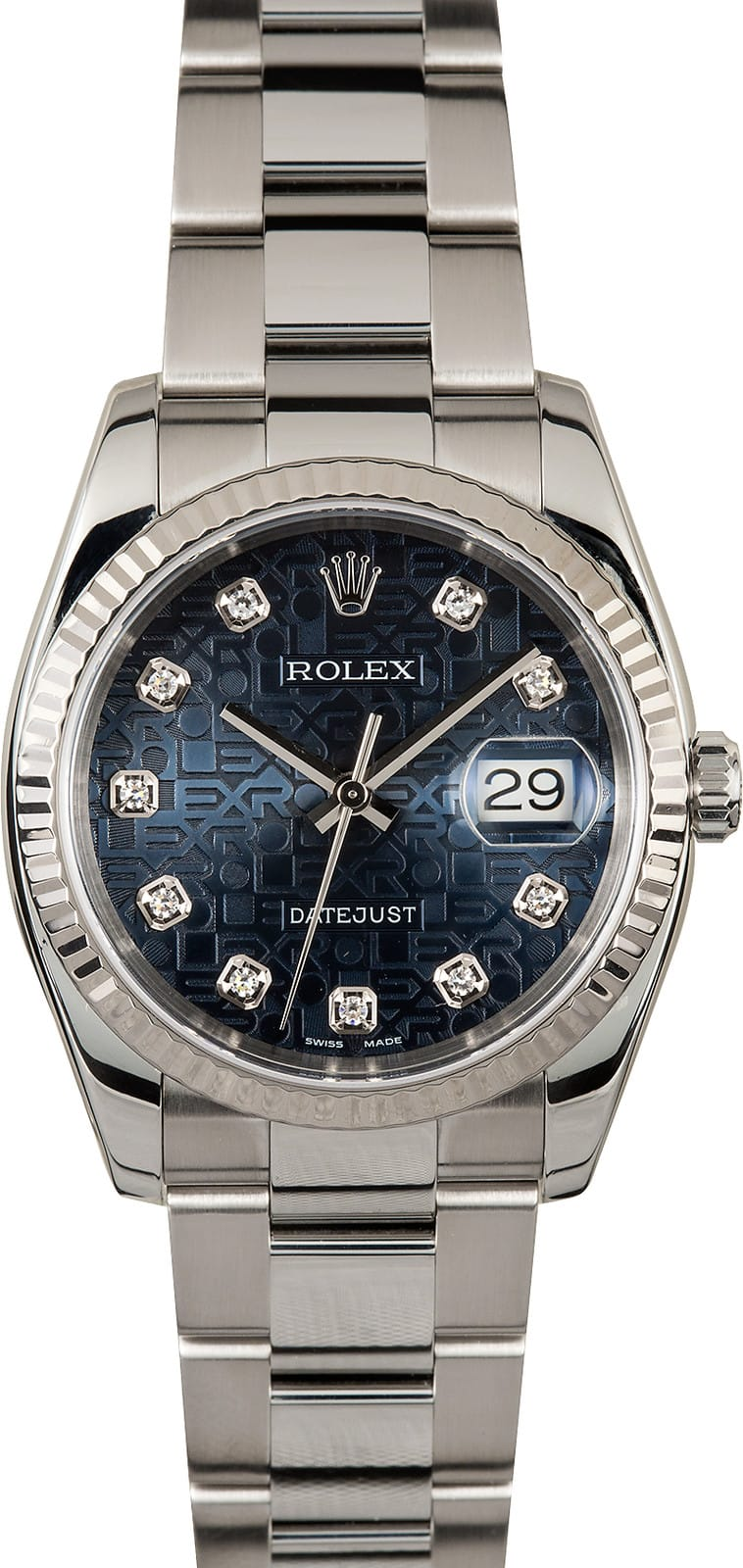 Rolex Datejust 116234 Diamond Jubilee Dial