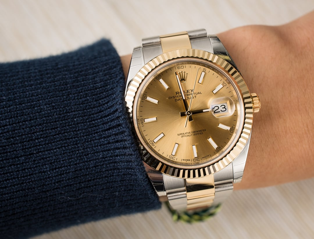 Rolex Datejust 126333 Two Tone Oyster