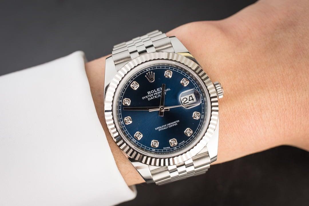c67ffd4021c Rolex Datejust II Ref 126334 Blue Diamond Dial