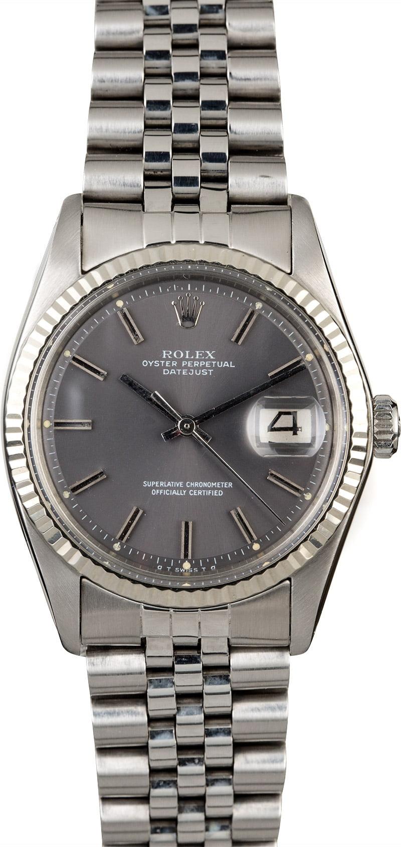 Vintage Rolex DateJust Steel 1601