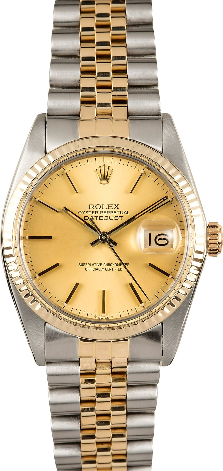 Certified Pre Owned >> Rolex Datejust 16013 Certified Pre-Owned Watch