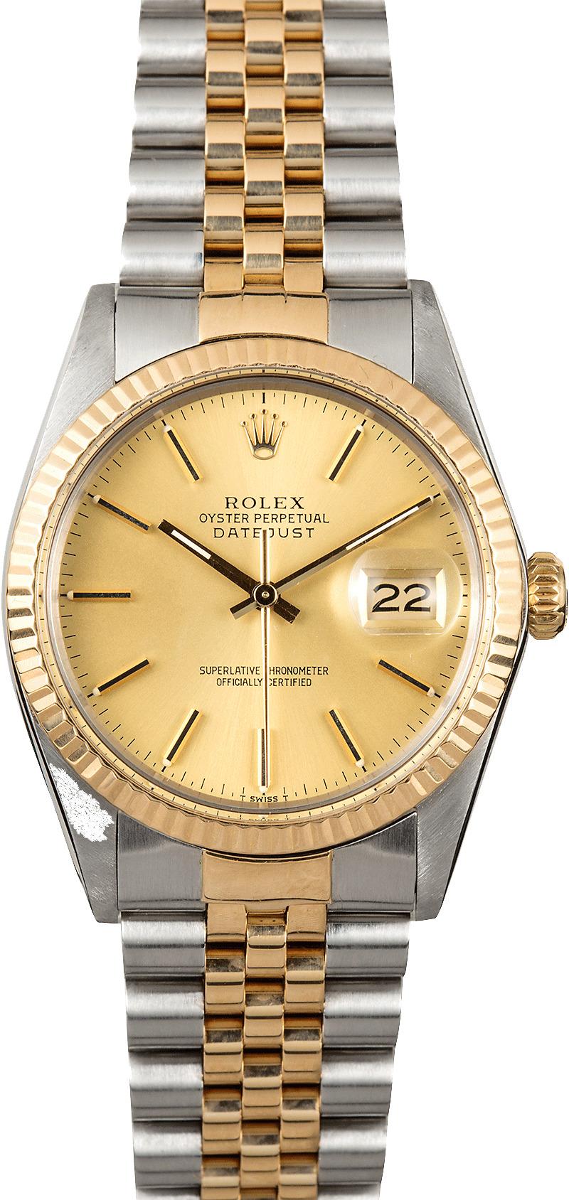 Rolex Datejust 36 16013 Men\u0027s