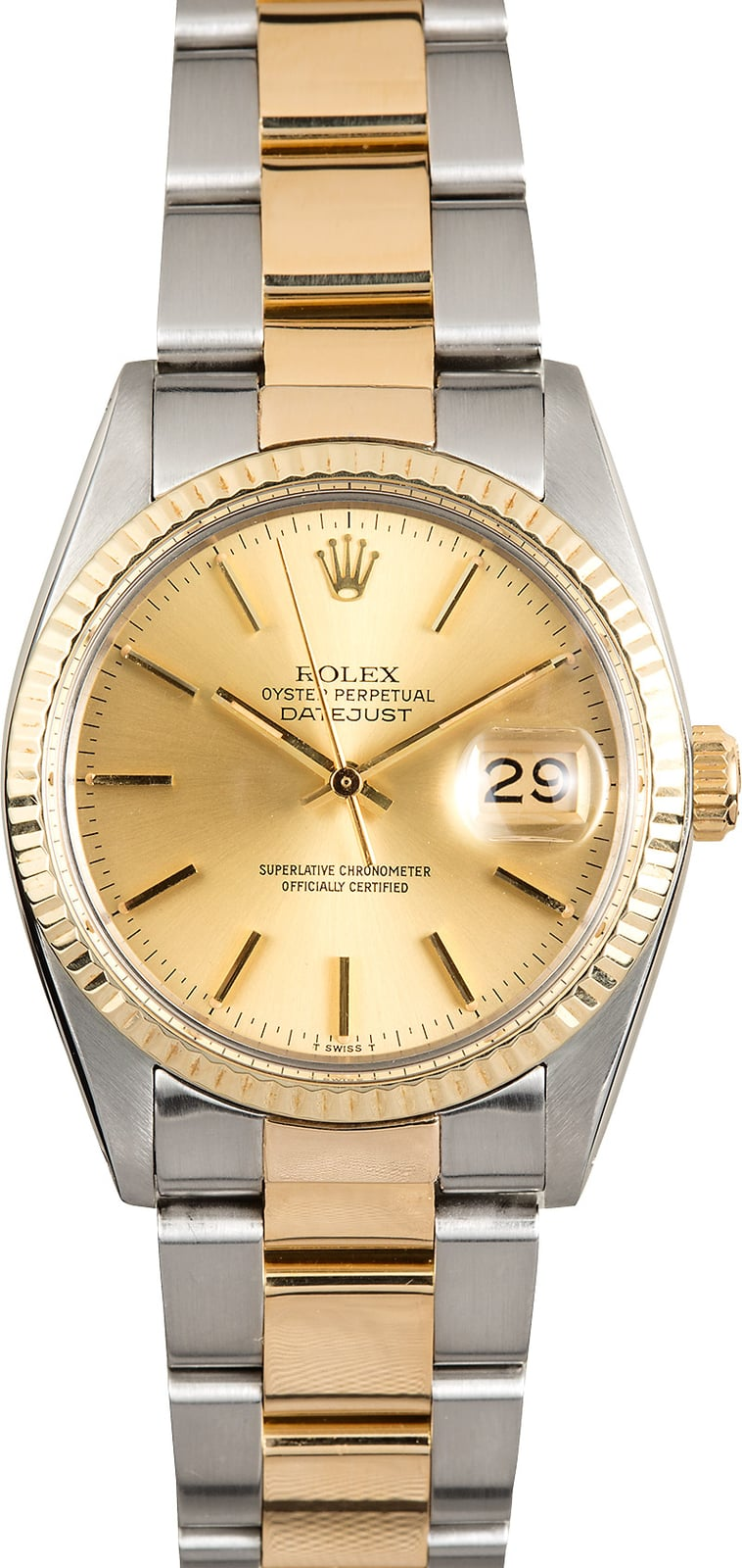 silver rolex watch automatic watches bezel fluted bracelet dial index case white datejust gold jubilee stainless steel