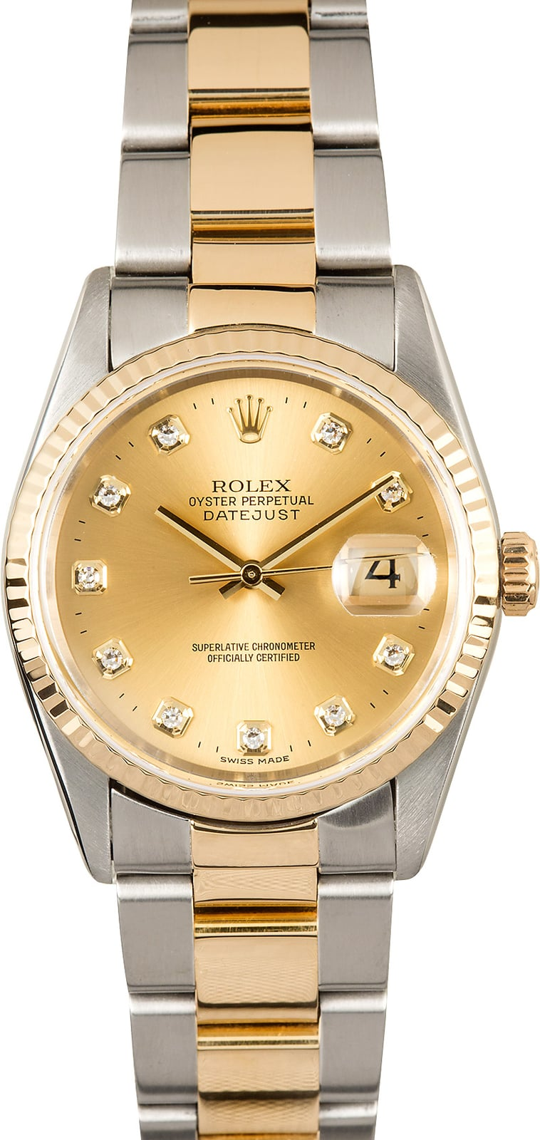 Rolex Oyster Perpetual Datejust Diamond Numbers