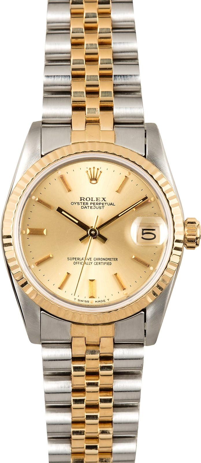 Rolex datejust 31 mid size 68273 for Rolex date just 31