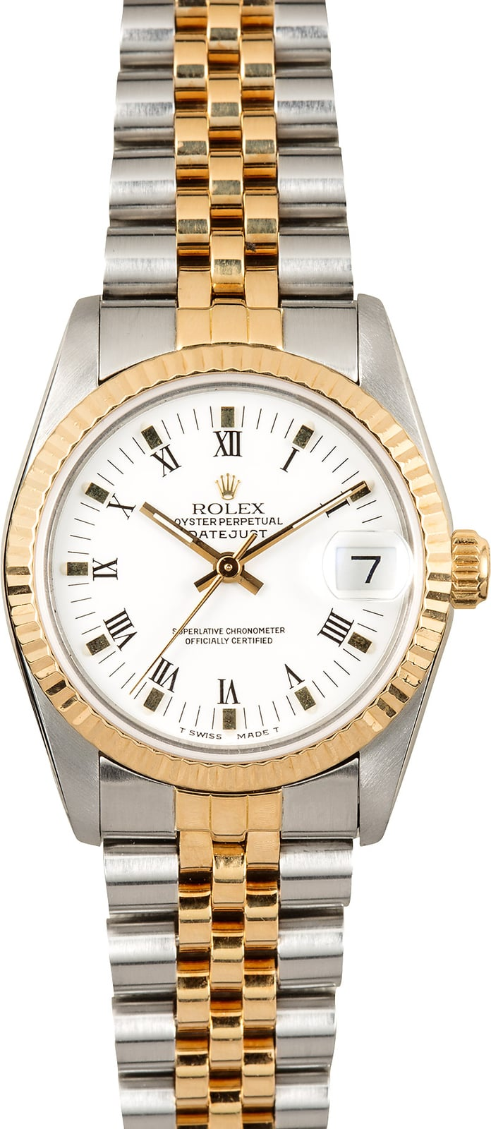 Rolex datejust 31 mid size watch 68273 for Rolex date just 31