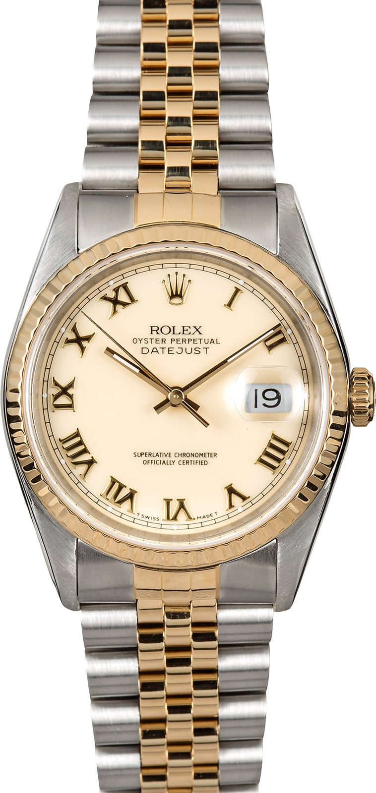 Rolex datejust 36 roman dial 16233 for Rolex date just 36