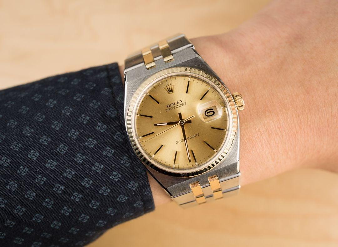 Rolex Datejust 17013 Oysterquartz