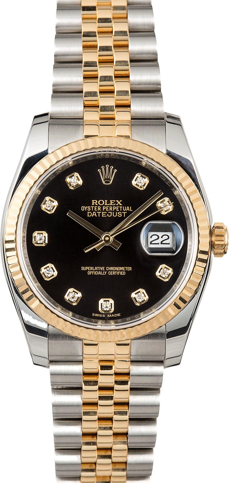 Datejust Rolex Two Tone