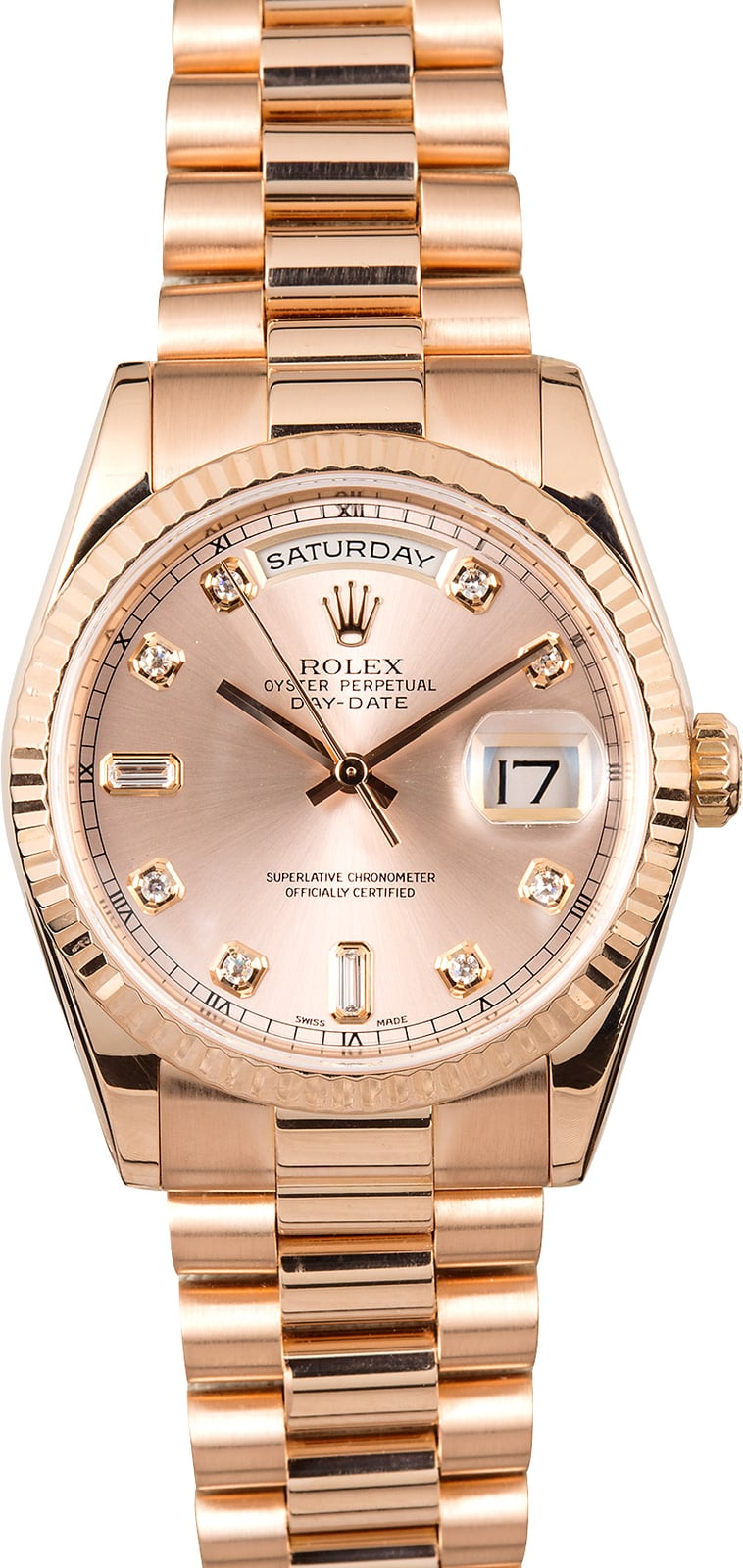 Rolex Day Date President 118235 Rose Gold