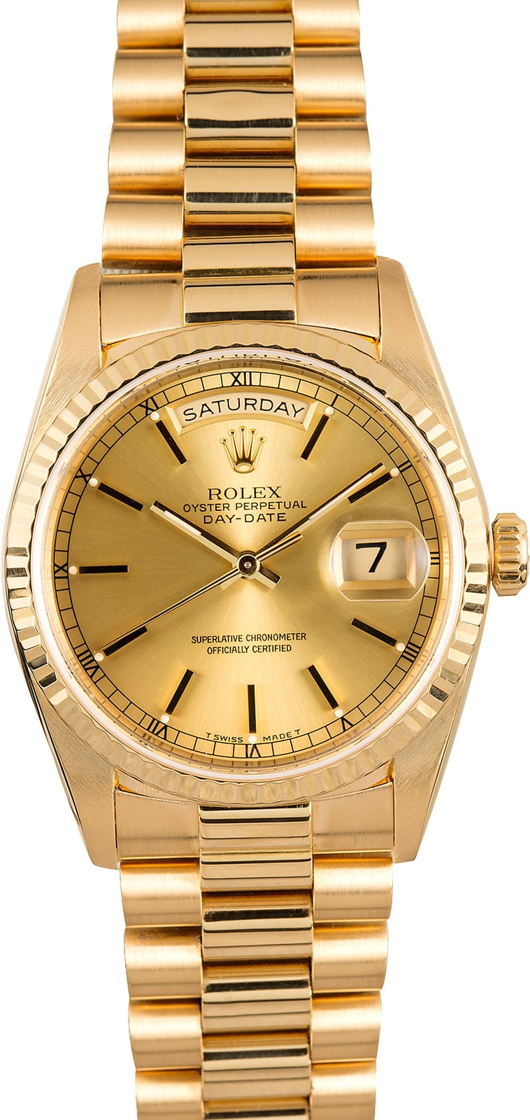 Rolex Day Date President 18238 18k Yellow Gold