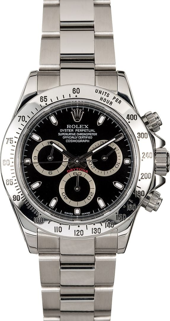 Rolex Daytona Black for Sale at Bob's - 100% Rolex