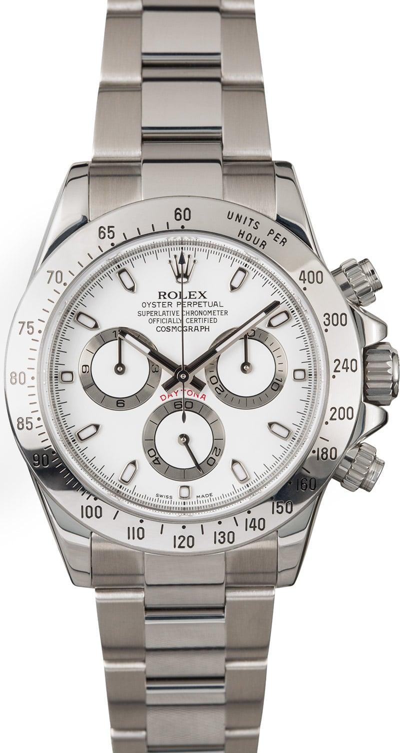 Rolex daytona stainless steel 116520 for Rolex cosmograph daytona