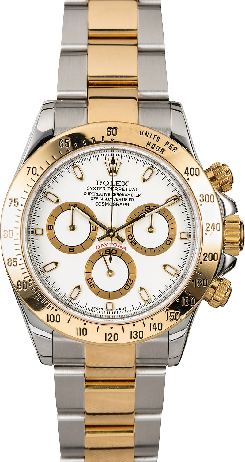 Rolex Daytona White Face 116523 For Sale At 10295 00