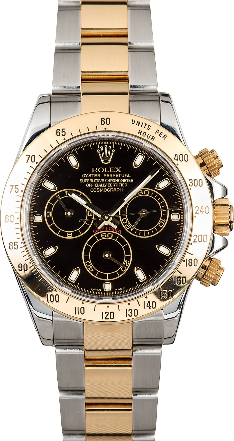 Rolex Daytona 116523bkso Steel Gold
