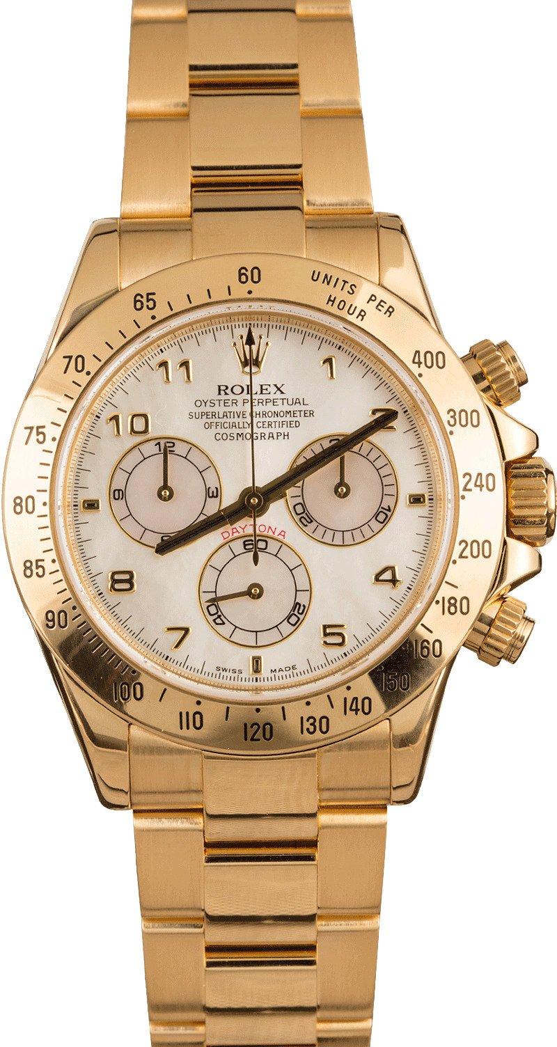 Buy Used Rolex Daytona 116528 Bob S Watches Sku 128754 X