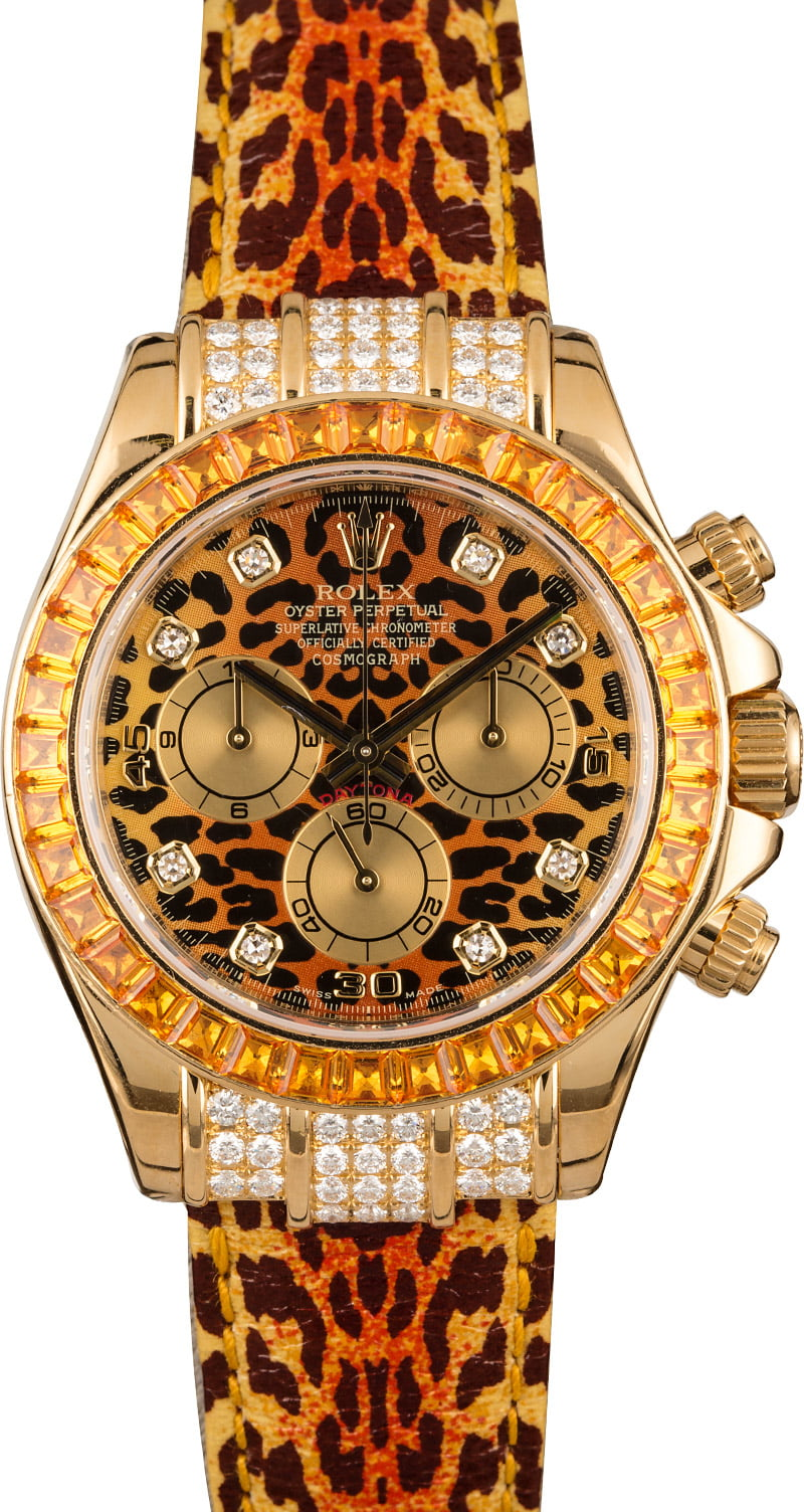 Certified Pre Owned >> Buy Used Rolex Daytona 116598SACO   Bob's Watches - Sku: 126641
