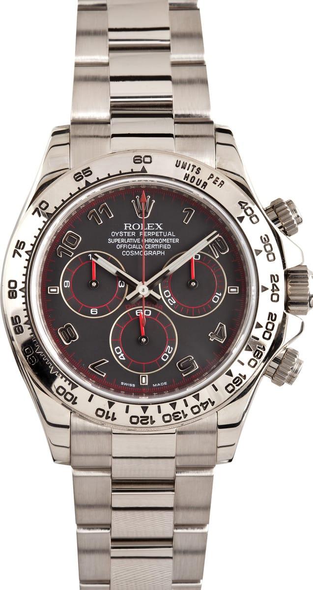 Rolex Daytona Black Red