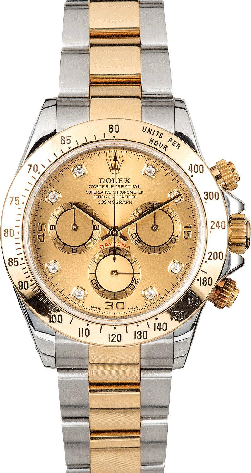 Rolex daytona cosmograph 116523 diamonds for Rolex cosmograph daytona
