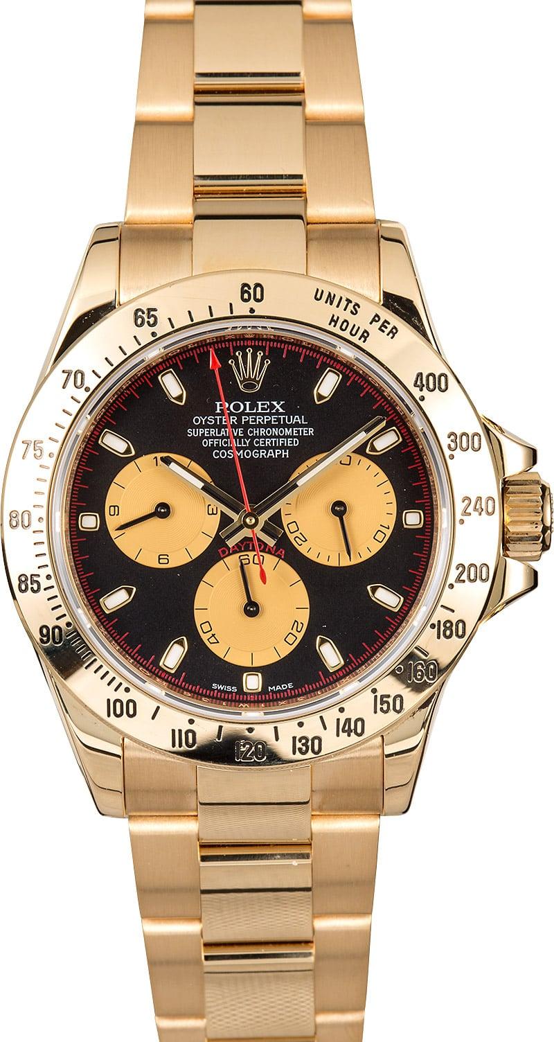 Rolex daytona cosmograph 116528 gold for Rolex cosmograph daytona