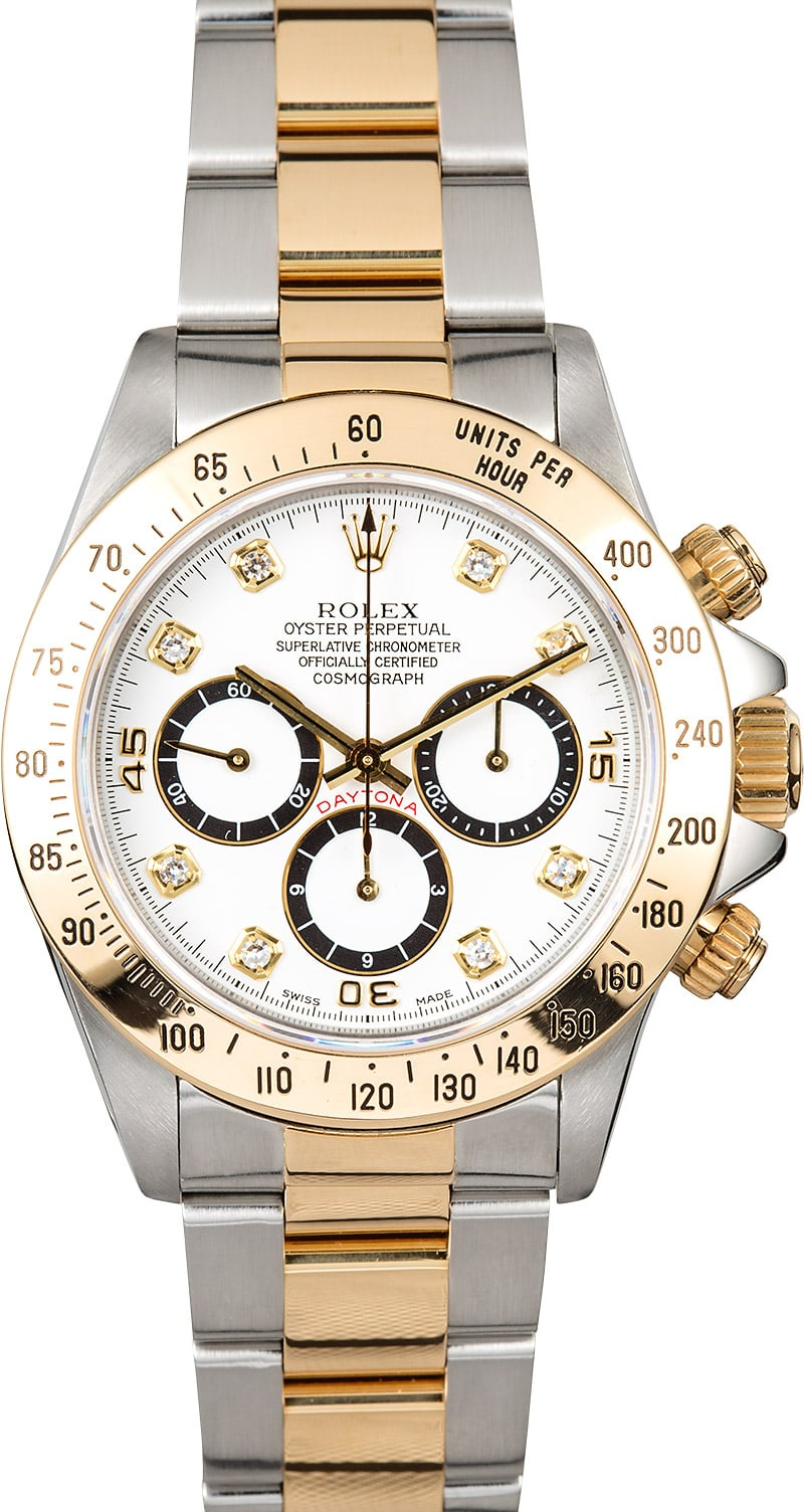 Rolex daytona cosmograph 16523 diamond dial for Rolex cosmograph daytona