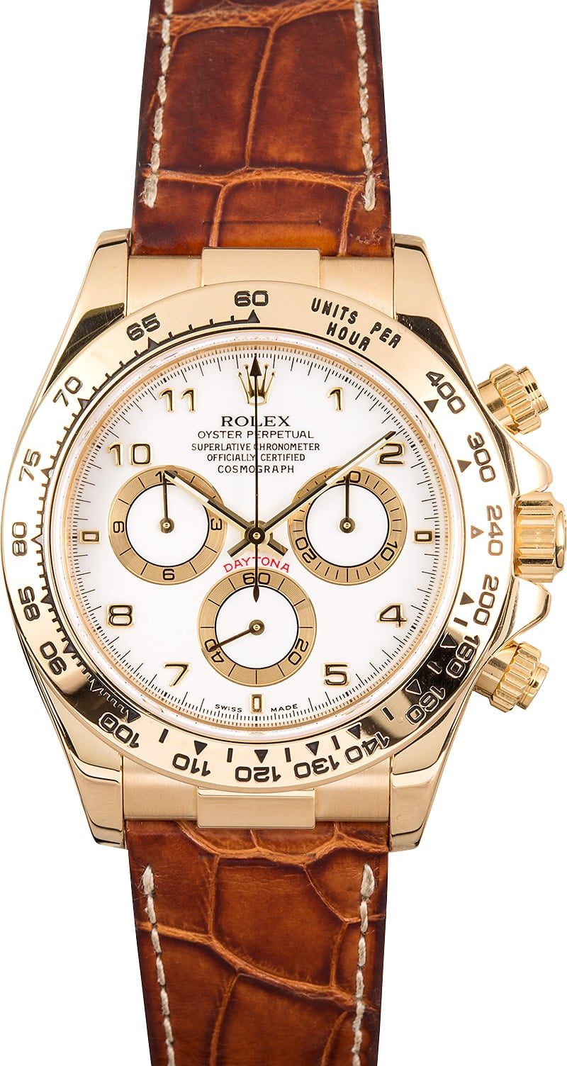 Rolex Daytona Cosmograph Gold 116518