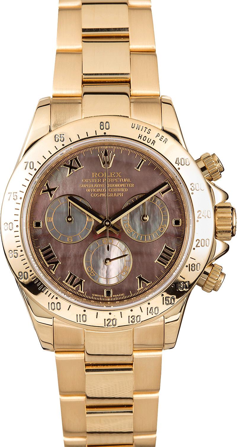 Rolex daytona cosmograph gold 116528 for Rolex cosmograph daytona